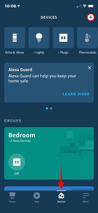 Amazon Alexa iPhone Add Device