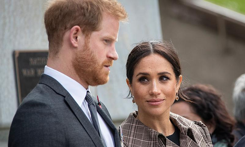 Meghan and Harry have made a public apology on Instagram. Photo: Getty