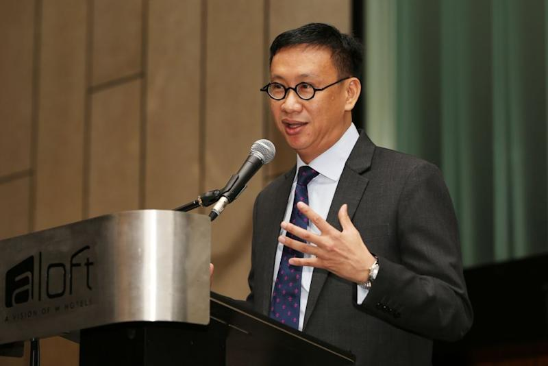 Subang MP Wong Chen posted an observation on his Facebook page that a typical daily attendance rate is an abysmal 20 to 30 per cent, while the minimum requirement for proceedings to continue is 26 MPs or 12 per cent of the total members of the Lower House. — Picture by Choo Choy May