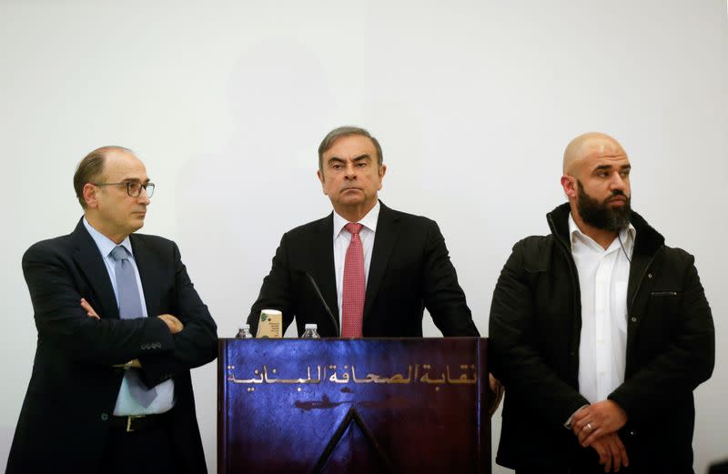 Former Nissan chairman Carlos Ghosn's news conference in Beirut