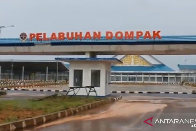Dana Rp10 miliar Kemenhub untuk perbaikan Pelabuhan Dompak