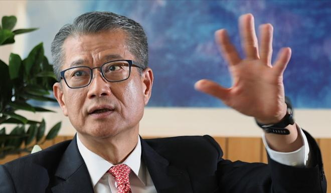 Financial Secretary Paul Chan has noted the importance of the finance sector in a blog post, but said 'it would be better if it could let the general public take part'. Photo: Nora Tam