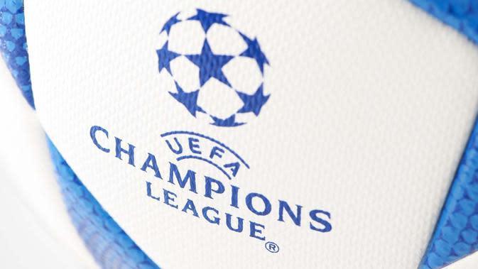 Logo Liga Champions (Ilustrasi Bola)