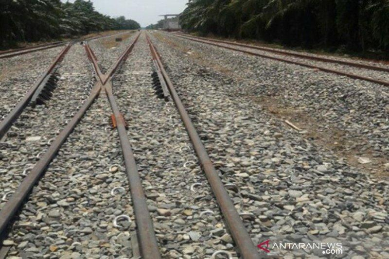 Jalur KA Besitang Sumut - Langsa Aceh diuji coba