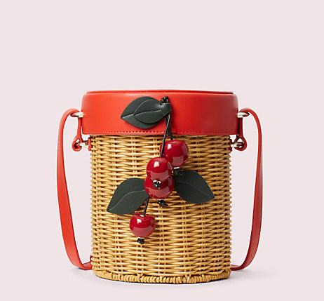 Picnic Wicker Crossbody. Image via Kate Spade.