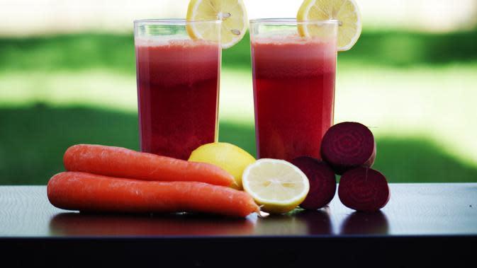 Jus buah segar. (Foto: pexels.com)
