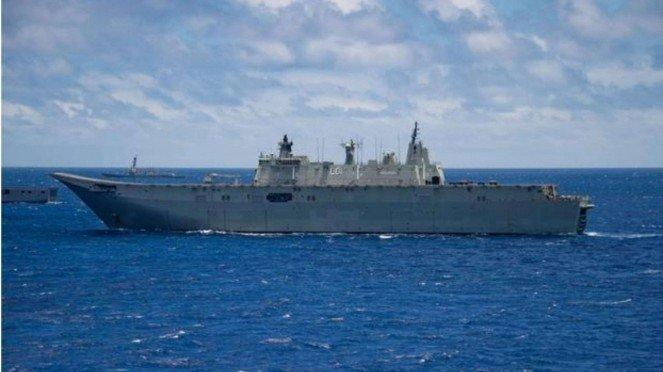 VIVA Militer: Kapal Angkatan Laut Australia, HMAS Adelaide