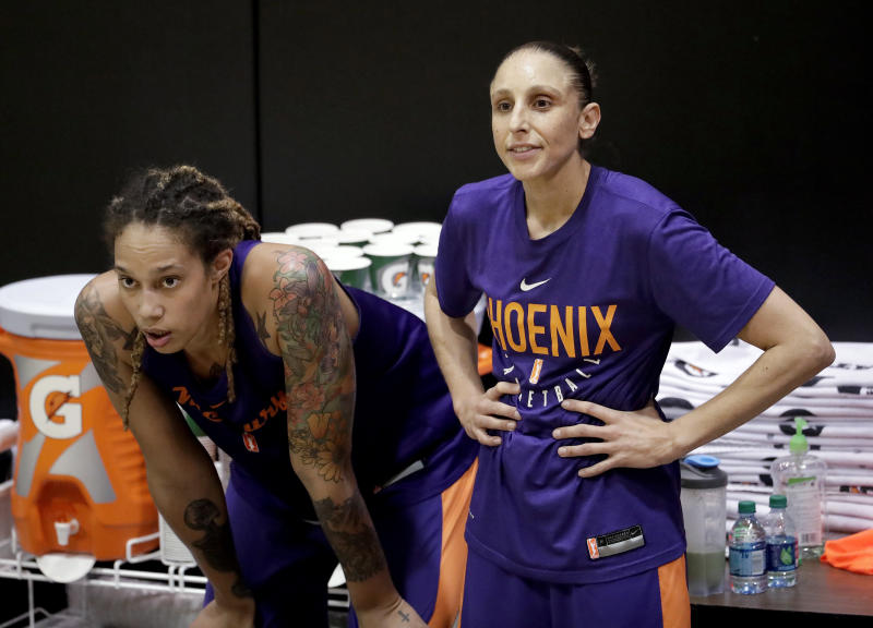 WNBA Announces Suspensions For Altercation Between Brittney Griner, Kristine Anigwe