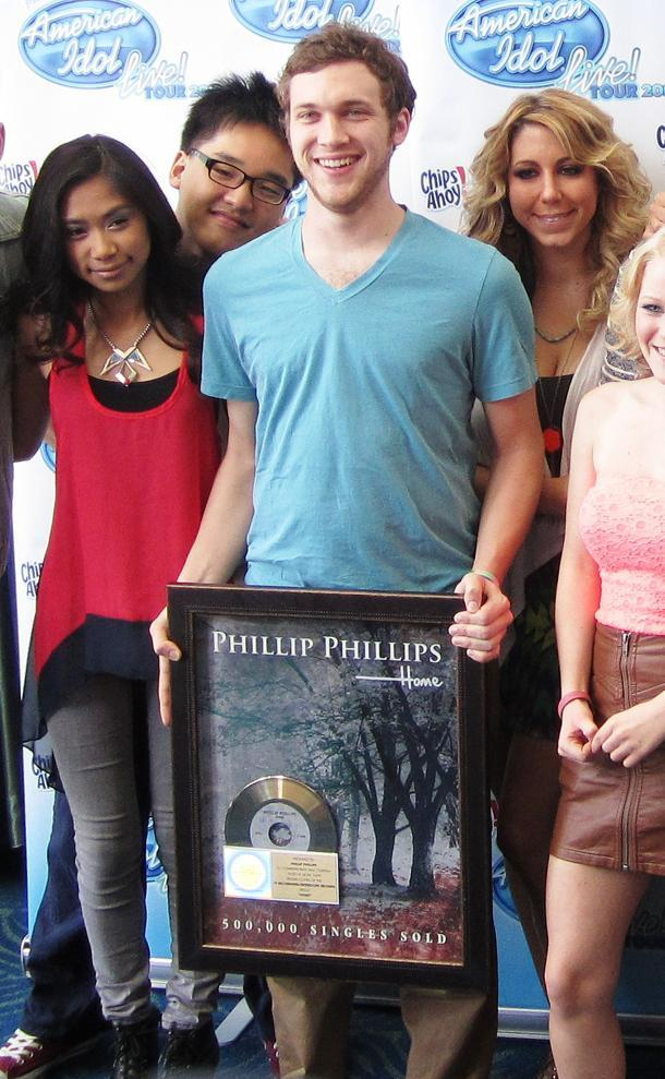 "Phillip Phillips Scores Olympic Gold Single With ""Home"""
