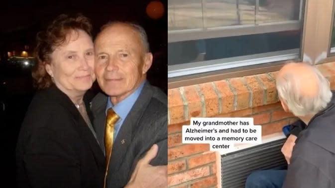 Kisah Pasangan Ucapkan Cinta dari Jendela karena Corona, Bikin Haru