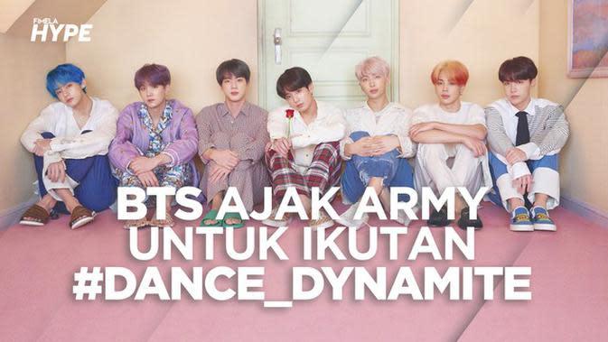 BTS Ajak ARMY Berjoget Lewat Tantangan #Dance_Dynamite