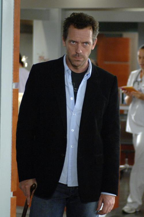 "In this image released by Fox, Hugh Laurie portrays Dr. Gregory House in a scene from the first season finale of ""House, M.D."" The Fox medical drama concludes its eight-season run on Monday, May 21, 2012, with a finale at 9 p.m. EDT, preceded by a one-hour retrospective. (AP Photo/Fox, Jamie Trueblood)"
