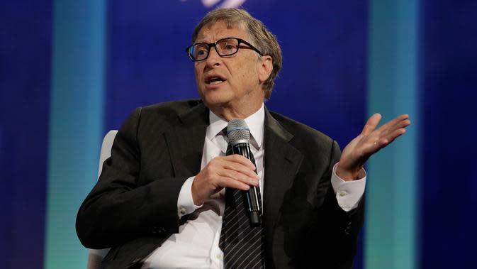Pendiri perusahaan raksasa Microsoft, Bill Gates (AFP PHOTO/JOSHUA LOTT)