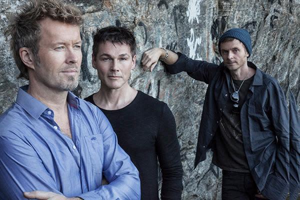 Magne Furuholmen, Morten Harket, Paal Waaktaar-Savoy of a-ha. (PHOTO: Warner Music)
