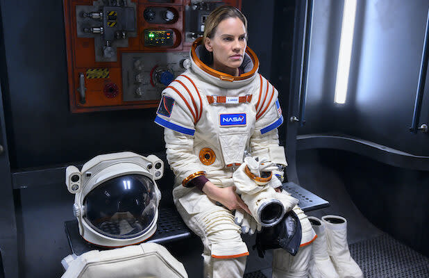 Hilary Swank Is a Very Lonely Astronaut in First Teaser for Netflix Space Drama 'Away' (Video)