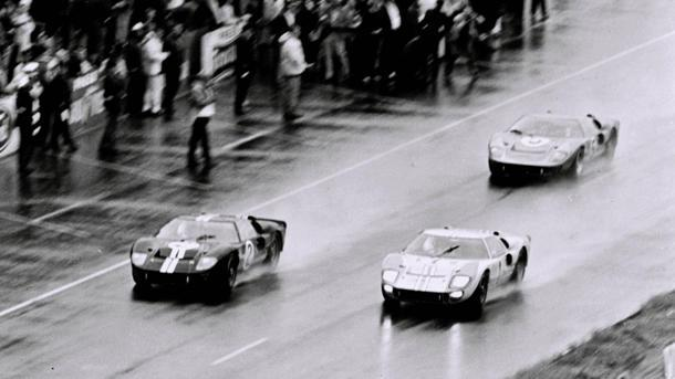 June 19: Ford GT40s sweep Le Mans with a 1-2-3 finish on this date in 1966