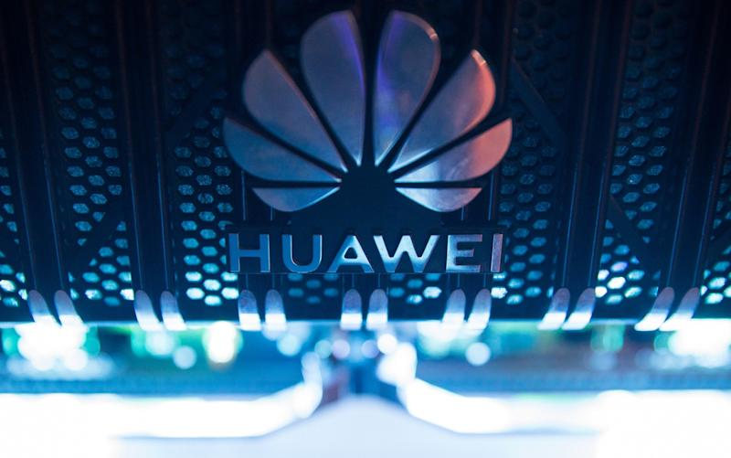 Huawei struck deals with a number of UK universities - Chris Ratcliffe/Bloomberg