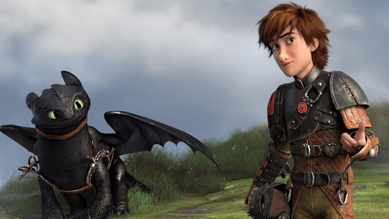 DeBlois, Arnold Talk Up DWA's 'How to Train Your Dragon 2'
