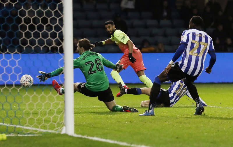 FA Cup Fifth Round - Sheffield Wednesday v Manchester City