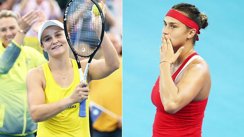 Australia beats Belarus to reach Fed Cup final