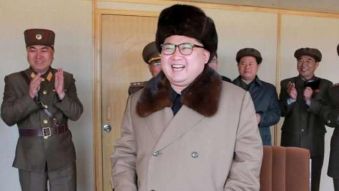 Gunung Berapi Aktif Bikin Nyali Kim Jong-un Ciut