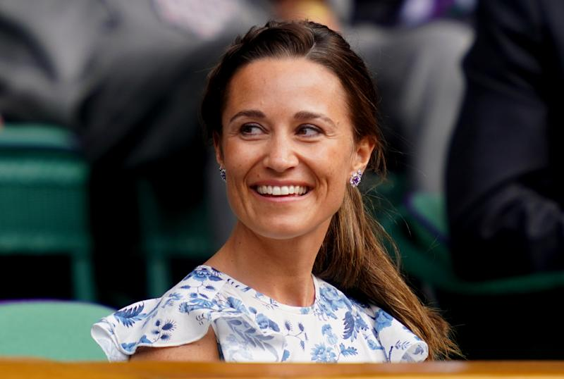 Pippa Matthews on day twelve of the Wimbledon Championships at the All England Lawn Tennis and Croquet Club, Wimbledon. (Photo by Adam Davy/PA Images via Getty Images)