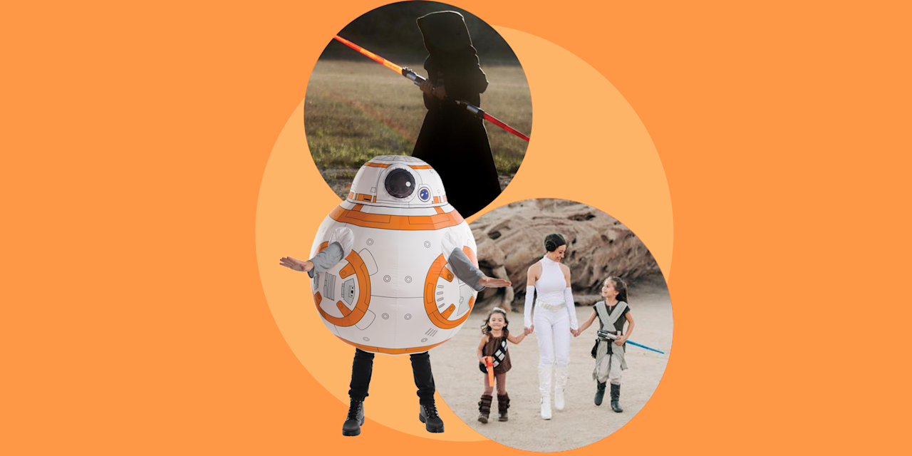 "<p>While you may not be <a href=""https://disneyparks.disney.go.com/blog/2019/06/dressing-the-part-bounding-for-your-visit-to-star-wars-galaxys-edge/"" target=""_blank"">allowed to dress up as a <em>Star Wars</em> character</a> while visiting Disney's newest land, <em><a href=""https://www.goodhousekeeping.com/life/travel/news/a43750/disney-star-wars-land-new-details/"" target=""_blank"">Star Wars: Galaxy's Edge</a></em>, you can do whatever you want on your home turf this Halloween. And with <em><a href=""https://go.redirectingat.com?id=74968X1596630&url=https%3A%2F%2Fwww.disneyplus.com%2Fmovies%2Fstar-wars-the-rise-of-skywalker-episode-ix%2F5e8JThYwCYgw&sref=https%3A%2F%2Fwww.goodhousekeeping.com%2Fholidays%2Fhalloween-ideas%2Fg4560%2Fstar-wars-halloween-costumes%2F"" target=""_blank"">Star Wars Episode IX: The Rise of Skywalker</a></em> and all the other films plus <em><a href=""https://go.redirectingat.com?id=74968X1596630&url=https%3A%2F%2Fwww.disneyplus.com%2Fseries%2Fthe-mandalorian%2F3jLIGMDYINqD&sref=https%3A%2F%2Fwww.goodhousekeeping.com%2Fholidays%2Fhalloween-ideas%2Fg4560%2Fstar-wars-halloween-costumes%2F"" target=""_blank"">The Mandalorian</a></em> always available on <a href=""https://go.redirectingat.com?id=74968X1596630&url=https%3A%2F%2Fwww.disneyplus.com%2F&sref=https%3A%2F%2Fwww.goodhousekeeping.com%2Fholidays%2Fhalloween-ideas%2Fg4560%2Fstar-wars-halloween-costumes%2F"" target=""_blank"">Disney+</a>, your house can be full of <em>Star Wars</em> whether there's a new movie coming out this year or not. Time to find an outfit from a long time ago in a galaxy far, far away and choose your <em>Star Wars</em> Halloween costume</p><p>Will you go classic, suiting up in a Storm Trooper or Darth Vader costume? Or opt to go trick-or-treating in a costume inspired by a more recent episode, like Kylo Ren or Rey? Or perhaps you're still a fan of the prequel trilogy? (We <em>do</em> exist!) With so many iconic characters, you have lots of options when it comes to picking a costume that reflects the <em>Star Wars</em> film you love most. And no matter what path you take, the Force will be with you this Halloween. Here are some of our favorite <em>Star Wars</em> Halloween costume ideas <a href=""https://www.goodhousekeeping.com/holidays/halloween-ideas/g28106766/family-halloween-costumes/"" target=""_blank"">for the whole family</a>.</p>"