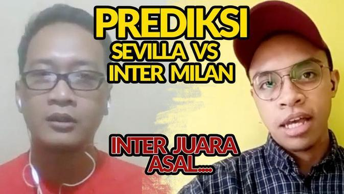 VIDEO PREDIKSI: Inter Milan Bisa Taklukkan Sevilla di Final Liga Europa tapi Tidak dengan Adu Penalti
