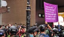 香港再現反送中示威遊行 含2名區議員至少69人被捕