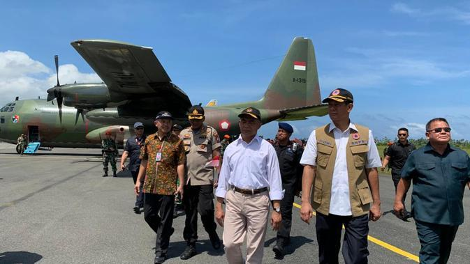 Pemulangan WNI Peserta Observasi di Natuna Menggunakan 3 Pesawat