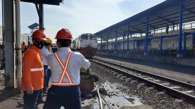 Stasiun Bongkar Batu Bara Kertapati, Palembang. (Dok KAI)