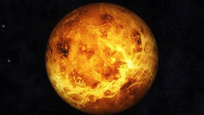 ilustrasi planet Venus. (iStockphoto)