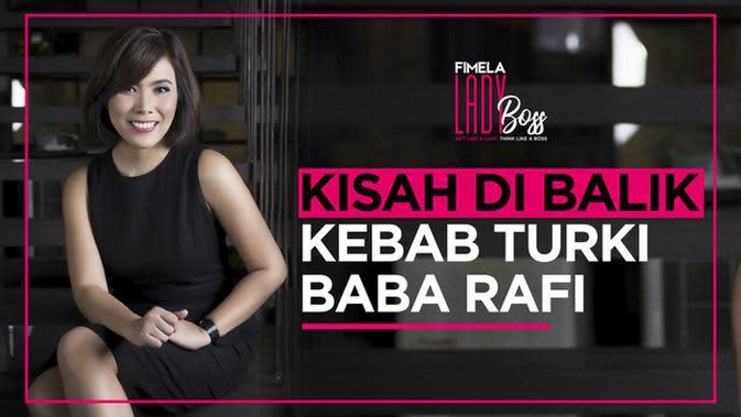 LADY BOSS: Cerita Nilamsari Membangun Bisnis Kuliner Kebab Turki Baba Rafi