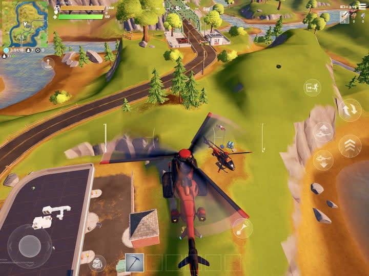 Fortnite frenzy farm helicopter