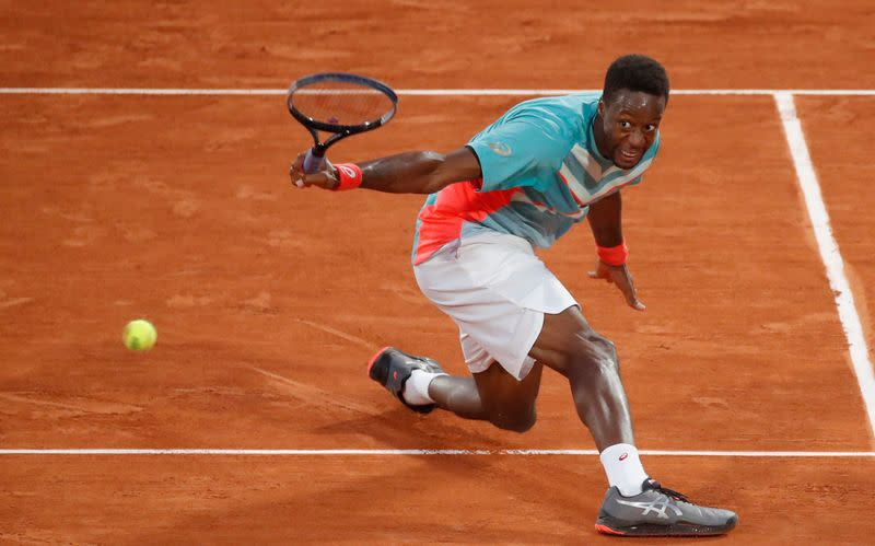 Eighth seed Monfils crashes out against Kazakh Bublik