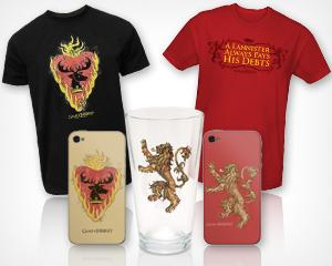 Weekly 'Game of Thrones' Giveaway: Lannister and Stannis Baratheon Prize Packs