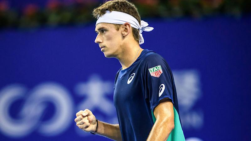 De Minaur sets up Mannarino final in Zhuhai