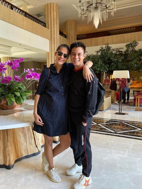 Paula Verhoeven dan Baim Wong (Instagram/baimwong)