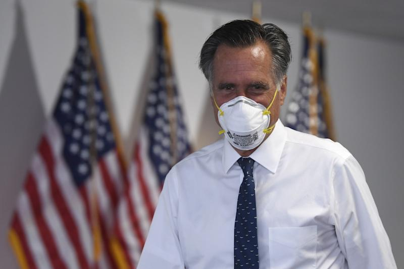 Romney akan terus bungkam soal pilihannya pada Pilpres 2020