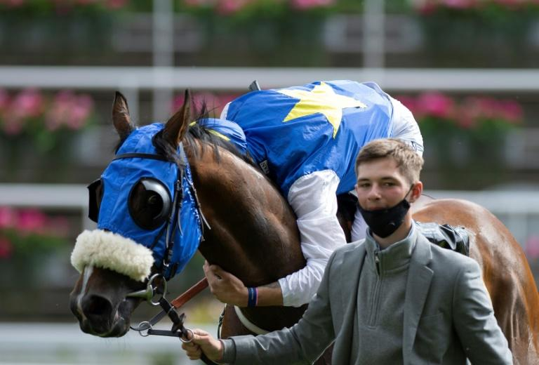 Stott was overcome with emotion after adding a second Royal Ascot winner half an hour after his first when he rode Hey Jonesy to victory in the Wokingham Stakes