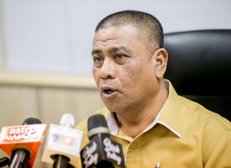 Datuk Saarani Mohamad says Umno's decision not to join Perikatan Nasional did not affect the Perak government. — Picture by Farhan Najib