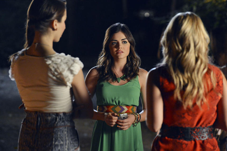 """Pretty Little Liars"" - ""The Khan Game"": LUCY HALE"