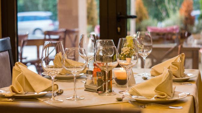Ilustrasi restoran (dok. Pixabay.com/neshom)