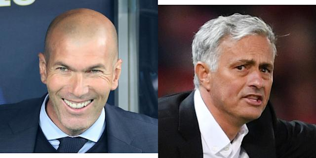 Zinedine Zidane Wants To Replace Jose Mourinho At Manchester United