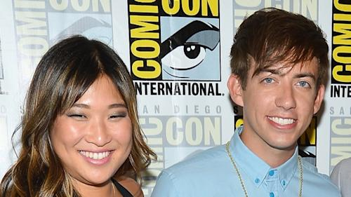 Jenna Ushkowitz & Kevin McHale Talk Returning For Glee Season 4 -- Getty Images