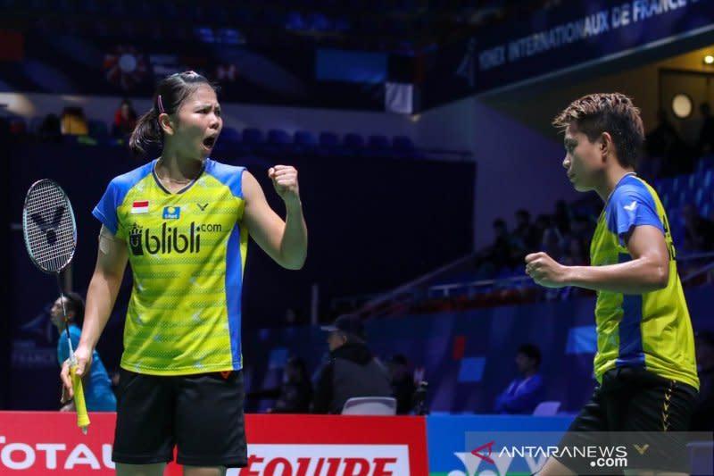 Babak pertama Fuzhou China Open, Greysia/Apriyani dihentikan Chow/Lee