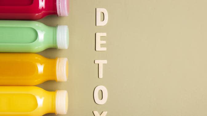 Ilustrasi detoks racun dalam tubuh (Photo on Freepik)