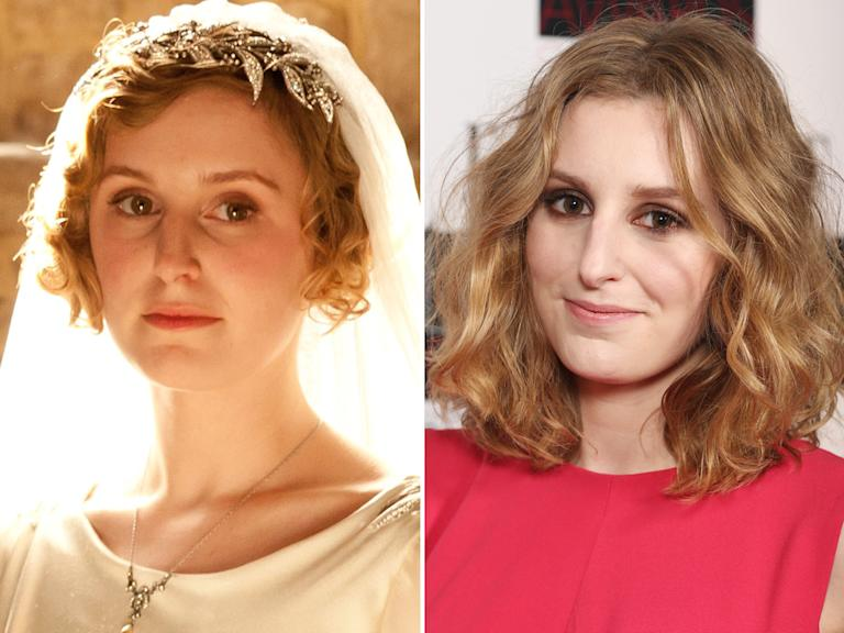 Laura Carmichael (Lady Edith)
