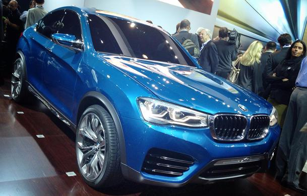 BMW X4 coupe-style SUV arriving next year