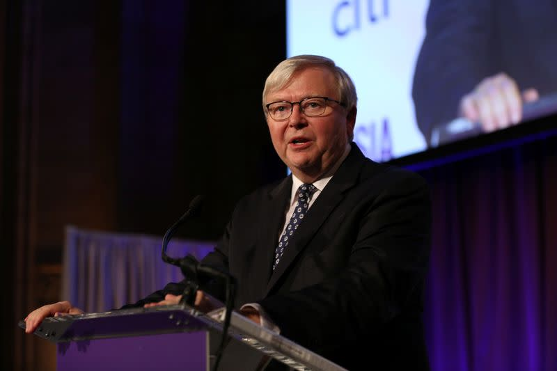 Australian ex-PM Rudd calls for inquiry into Murdoch media dominance